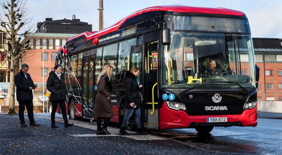 Scania инвестирует в быструю автобусную подзарядку