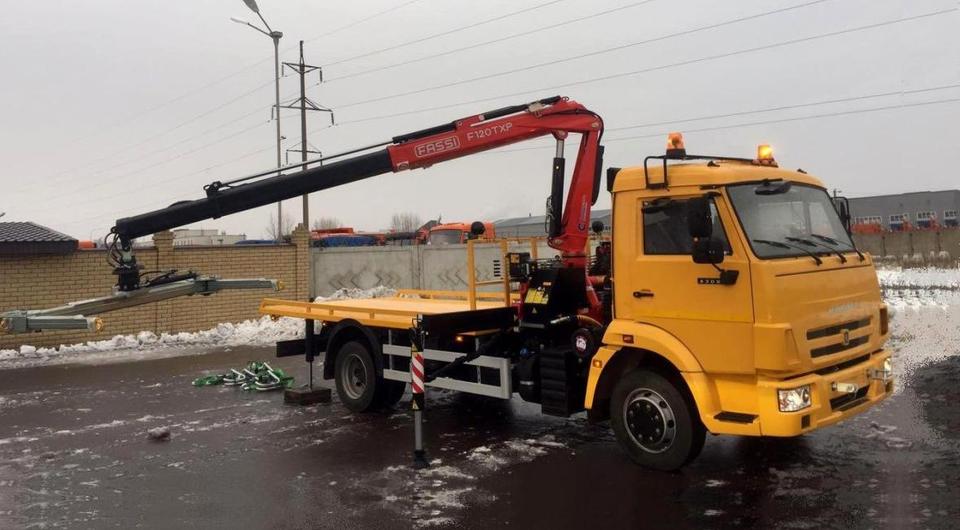 КАМАЗ поставил 40 автоэвакуаторов для МВД