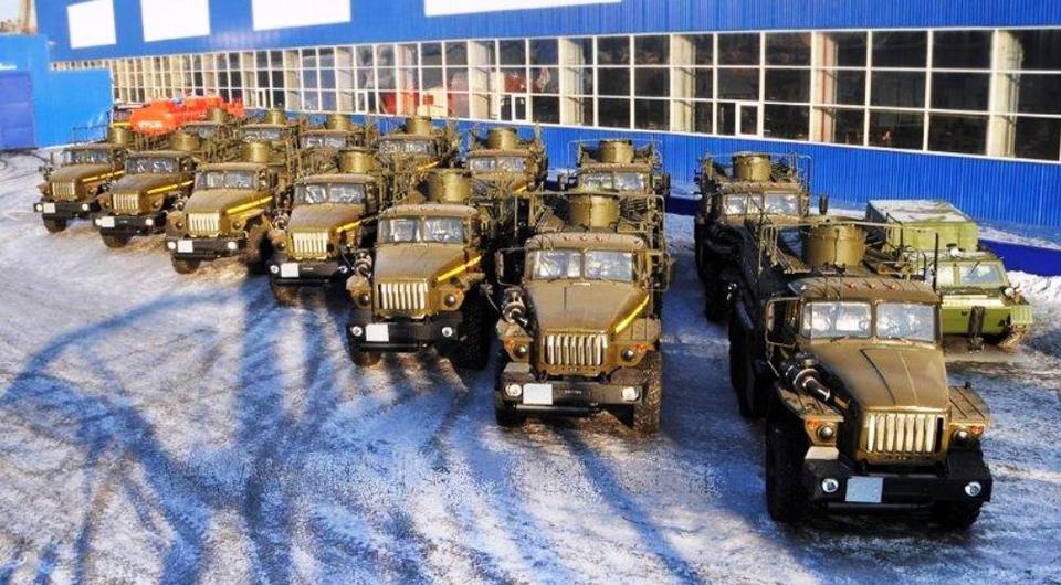 Автозаправщики «Уралспецмаша» для силовых структур