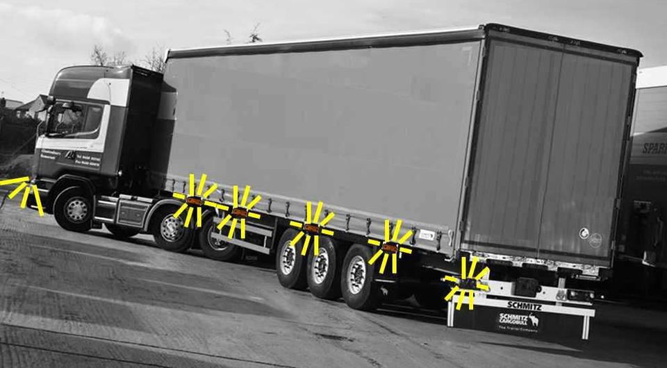 Schmitz Cargobull: поворотники по всему периметру