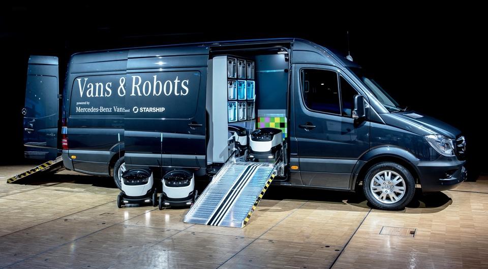 Mercedes-Benz: роботы выходят на «последнюю милю»
