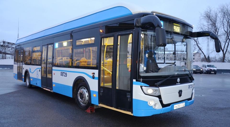 Ликинский электробус выходит на московский маршрут
