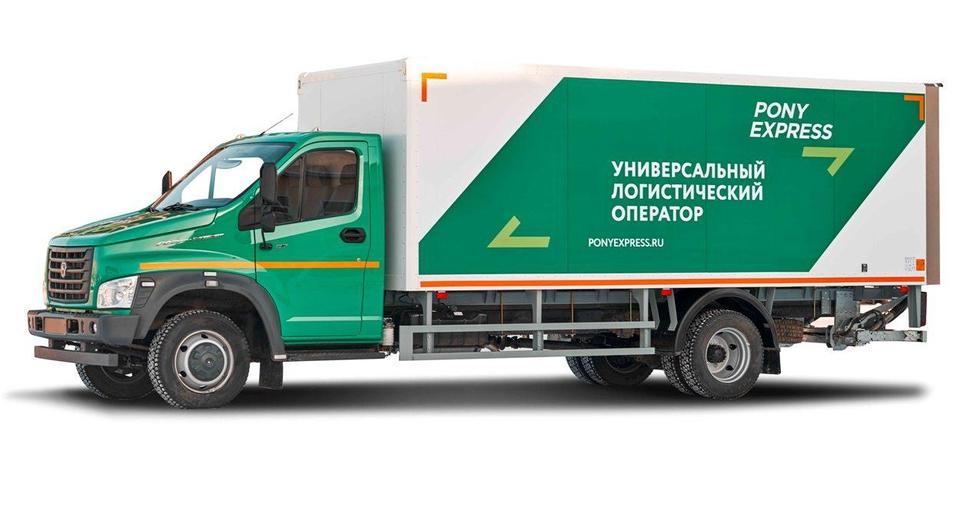Нижегородские грузовики для PONY EXPRESS