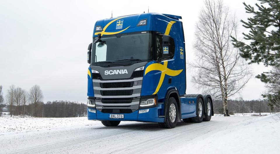 Scania R500 для шведских лыжников