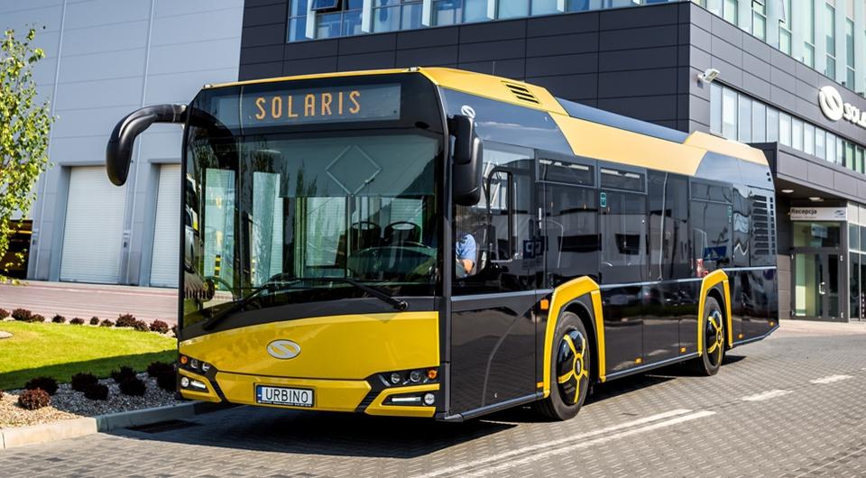 Solaris приступил к поставкам 10-метровый Urbino