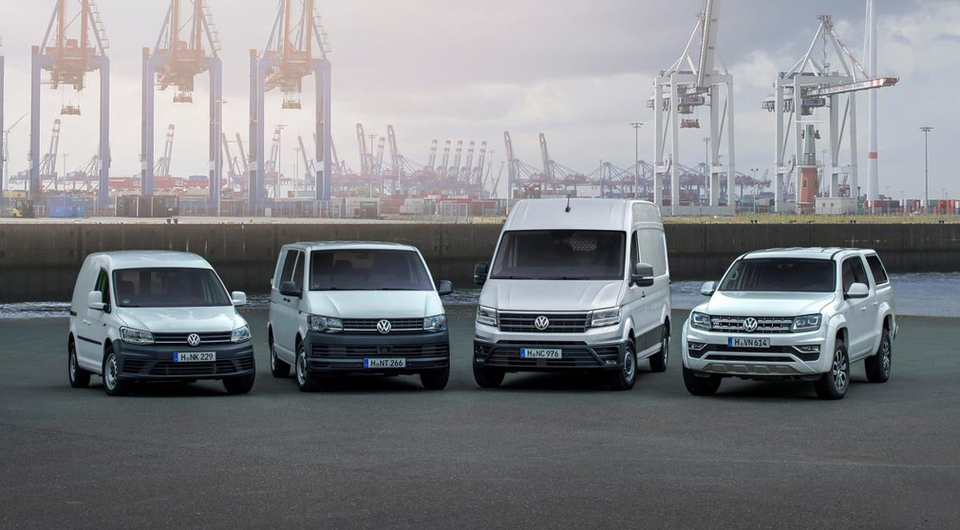 Volkswagen Commercial Vehicles: успешный год!