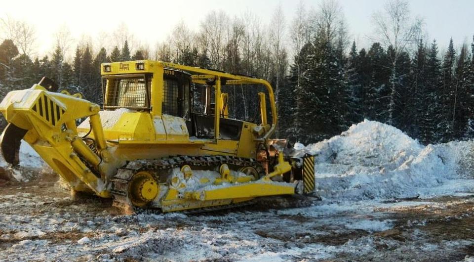 «ДСТ-УРАЛ» начал год с поставки лесного бульдозера