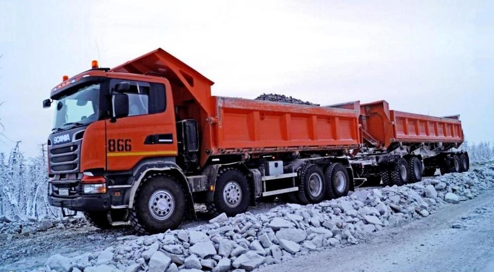 «Алроса» протестировала Scania на «алмазной» трассе