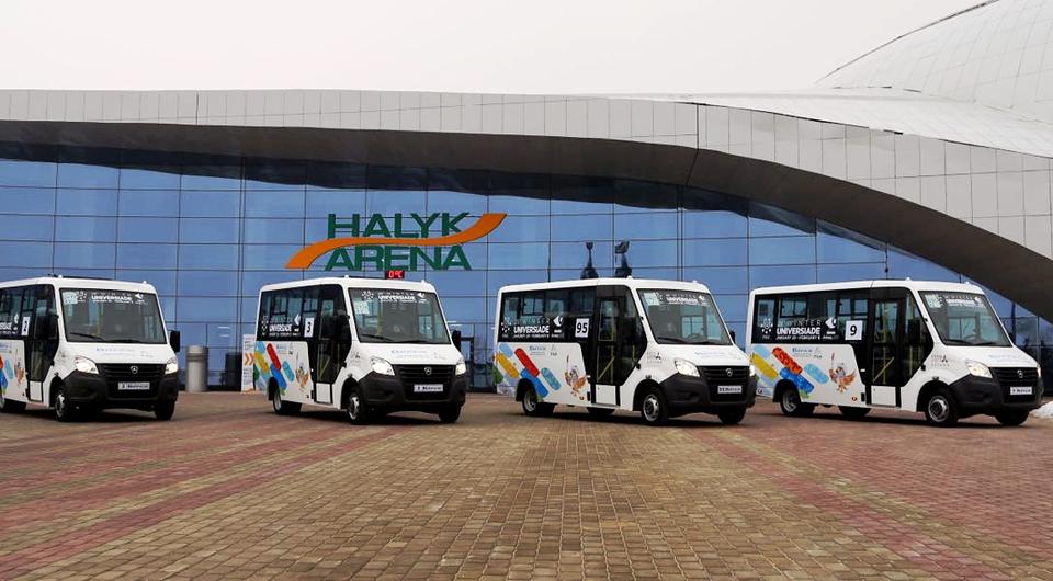 Автобус «Газель NEXT» завоевывает Московскую область и Казахстан