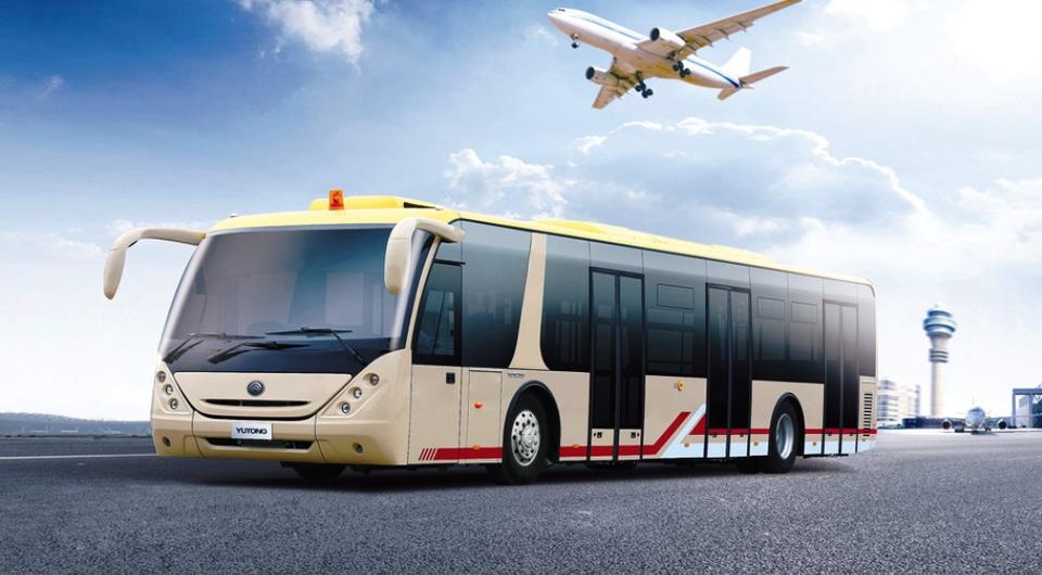 Автобусы YUTONG придут в российские аэропорты?