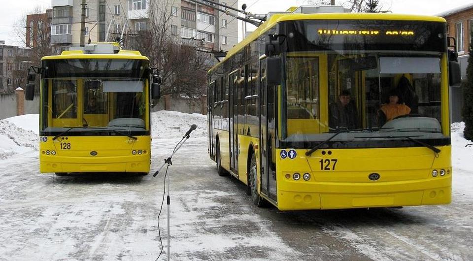 Украинский «Богдан» зарабатывает на троллейбусах