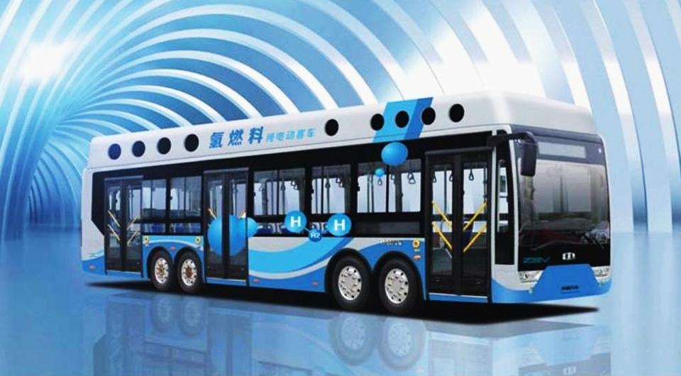 Заправляйте электробусы водородом!