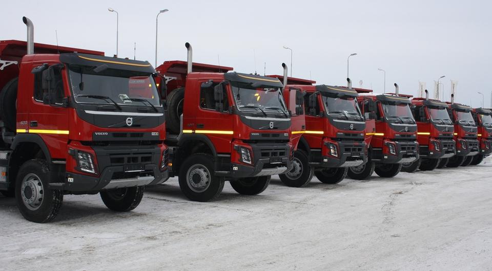 Новые Volvo FMX для Нижневартовска