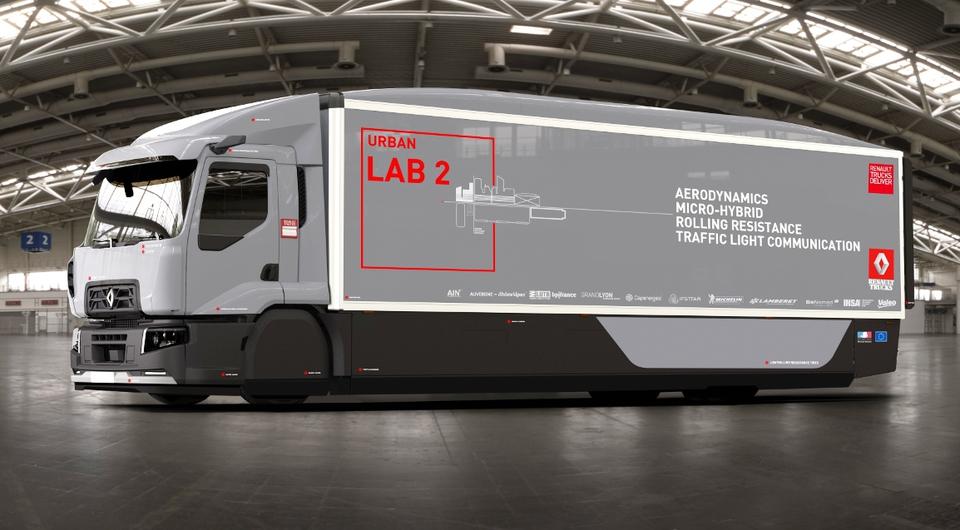 Renault Urban LAB 2. Цель: повысить экономичность на 13%