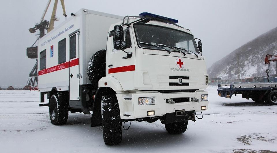 КАМАЗ: необычная «скорая» для Магадана