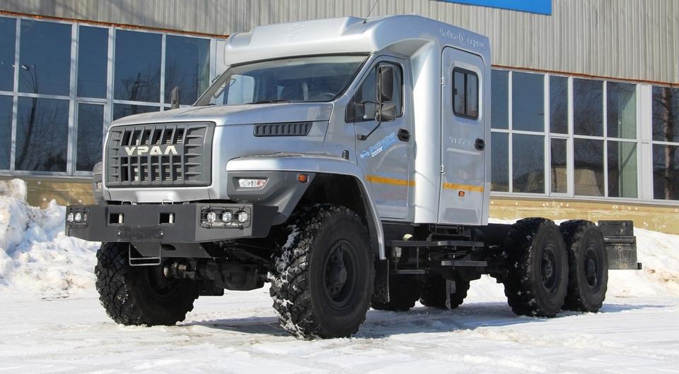 «Чайка-Сервис»: «Урал NEXT» с кабиной «Тайга»