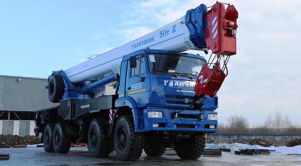 Есть двухсотый 50-тонный автокран «Галичанин»!