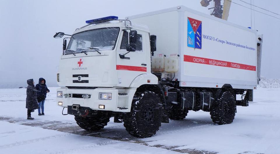 «Скорую» на базе КАМАЗ-43502 проверили «Колымой»