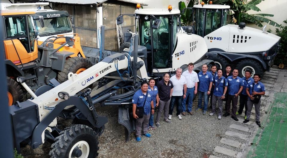 «РМ-Терекс» поставил первые автогрейдеры на Филиппины