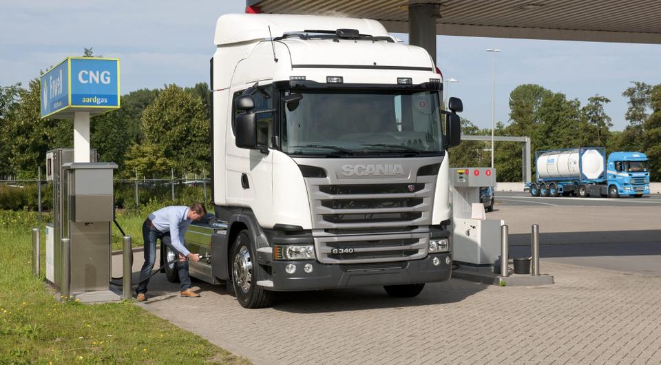 Scania: успехи техники на альтернативных топливах