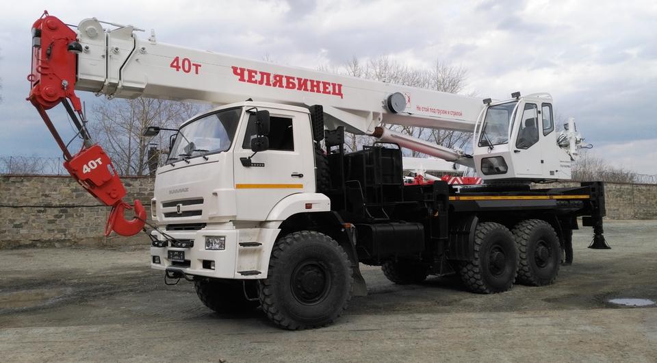 «Челябинец»: 40-тонник на трехосном внедорожном шасси