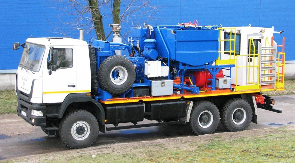 MAZ-MAN: цементировочная машина для нефтегазовой отрасли