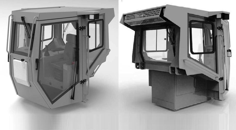 «ДСТ-Урал»: разработана новая тракторная кабина