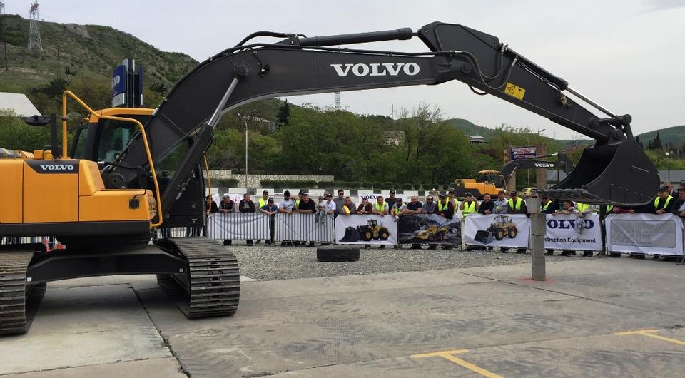 Volvo CE. Клуб Операторов открылся в Тбилиси