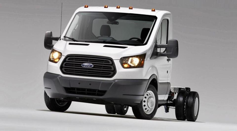 Ford: Transit через центр Москвы