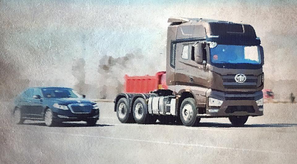 В Китае начались испытания беспилотных грузовиков