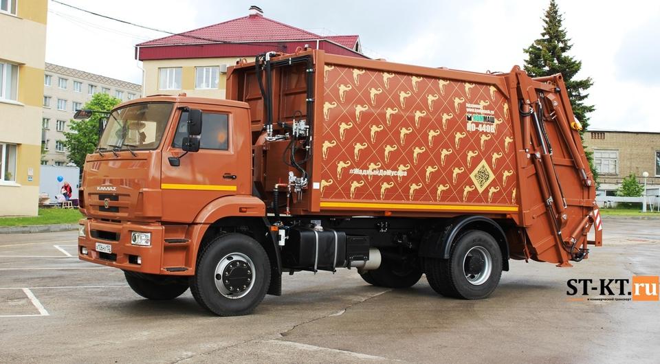 КОММАШ: перспективные 19-кубовые мусоровозы из Арзамаса
