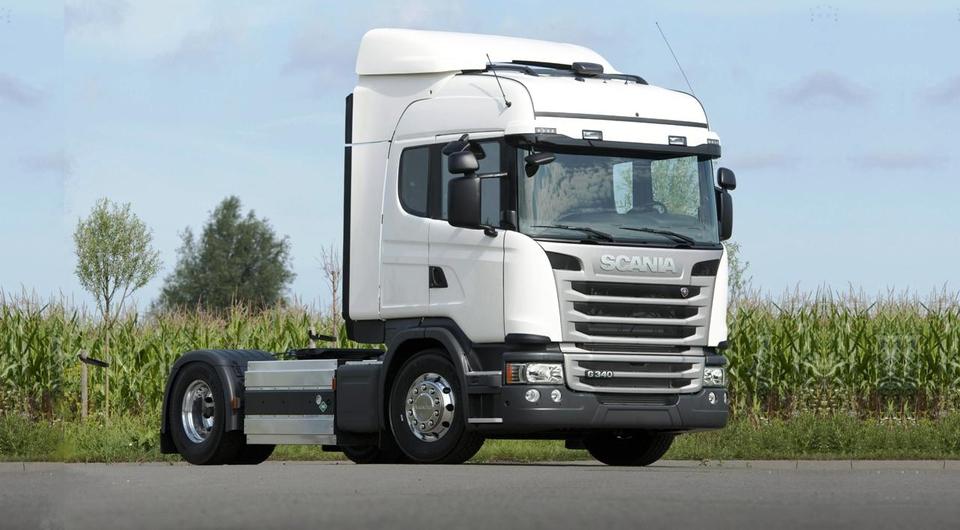 Пять газовых Scania для «Деловых линий»