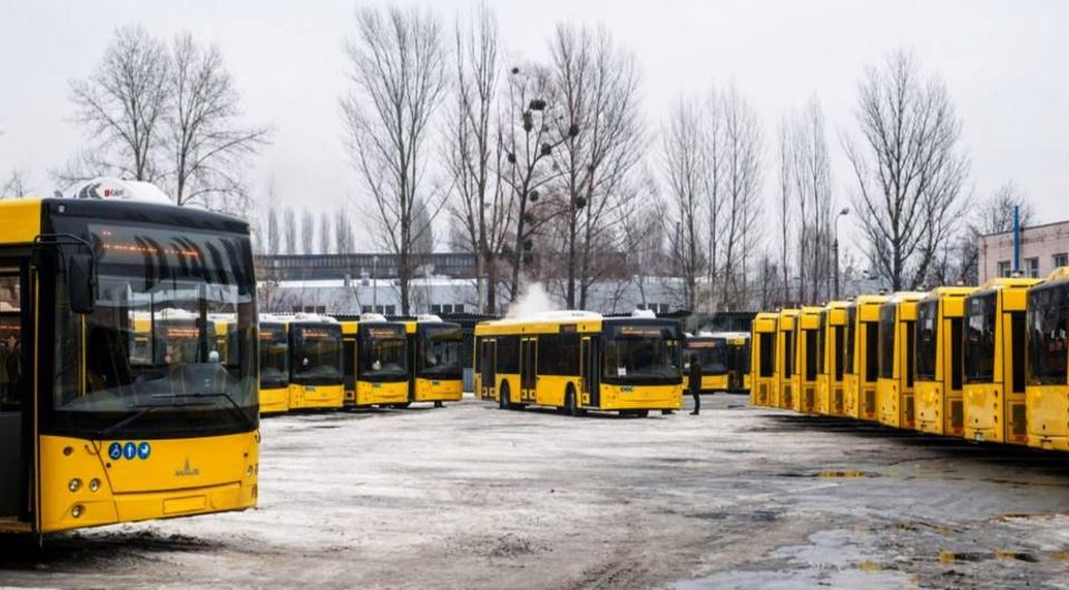 «Киевпастранс» закупает автобусы МАЗ и троллейбусы «Богдан»