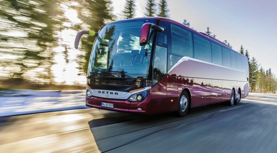 Москва получила полсотни автобусов Setra