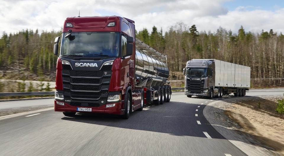 Scania: новое поколение дизелей V8