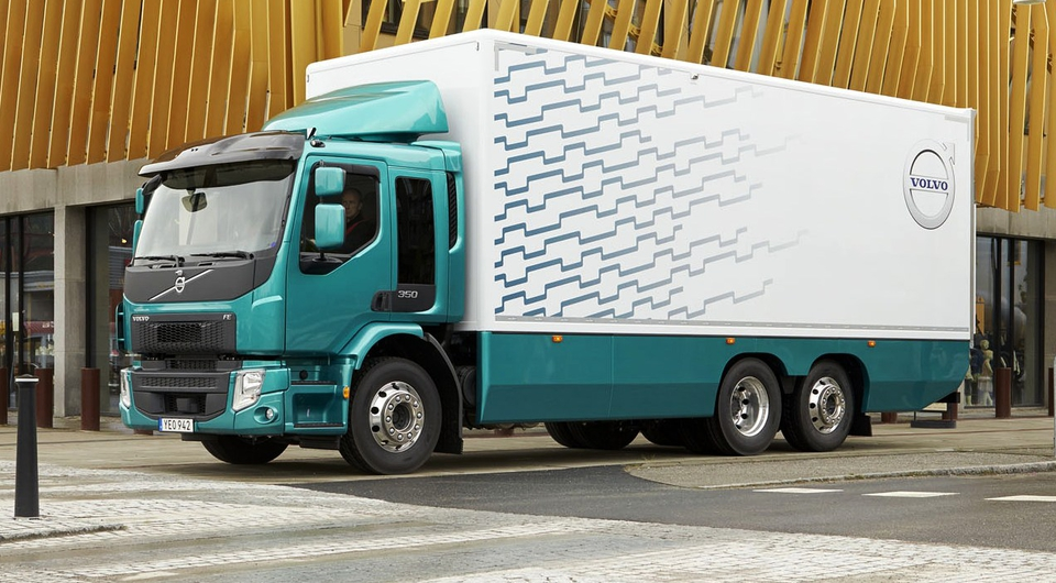 Volvo FE: прибавка в мощности и массе