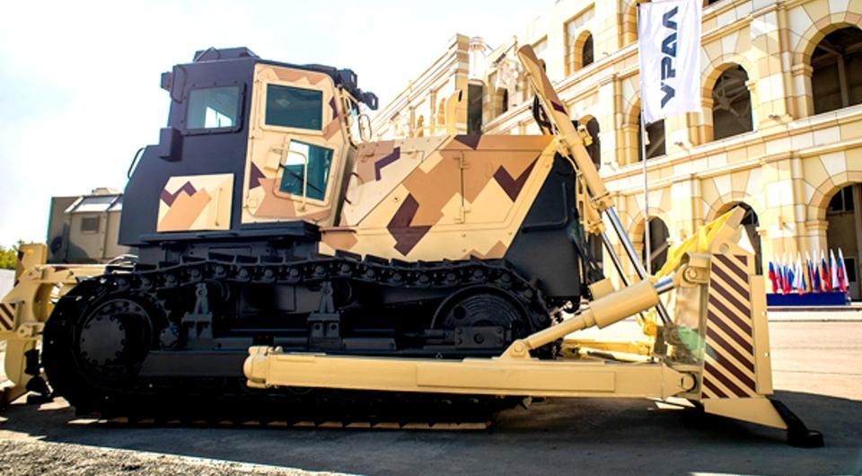«ЧТЗ-Уралтрак» поставит в армию бронированные бульдозеры