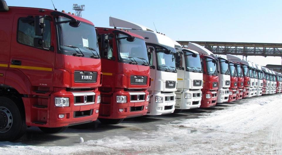 Крупнейший контракт на поставку газовых КАМАЗов