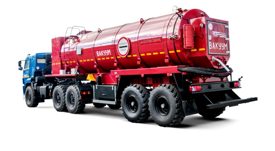 «УралСпецТранс»: вакуумная цистерна на полуприцепе