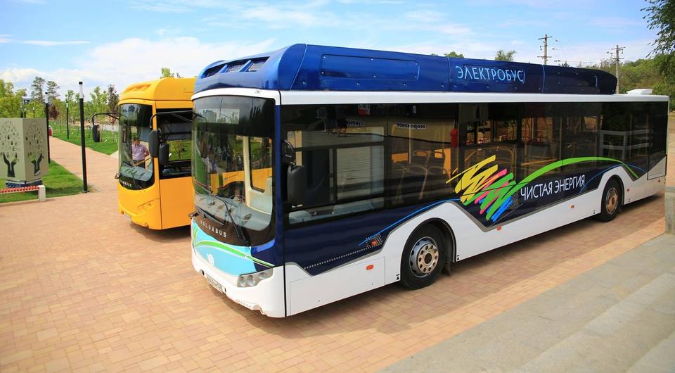 Электробус Volgabus: дебют в Волгограде