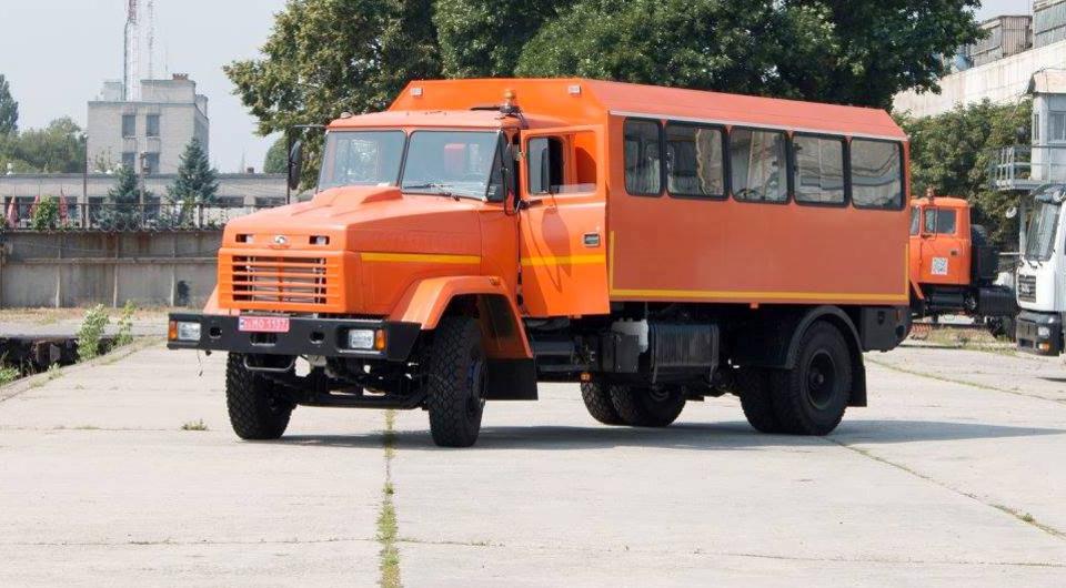 Вахтовки на шасси КРАЗ поставлены горнякам