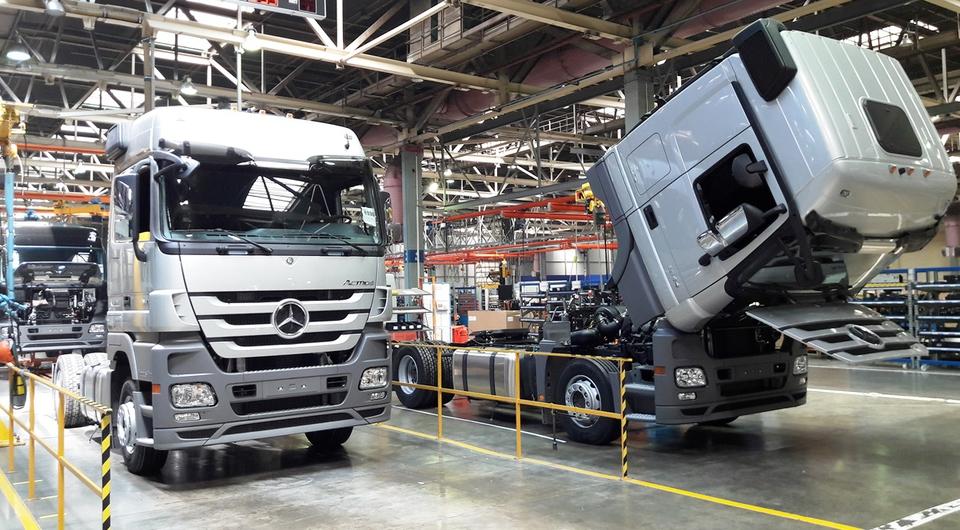 20 000-й грузовик завода «ДК РУС» в Набережных Челнах