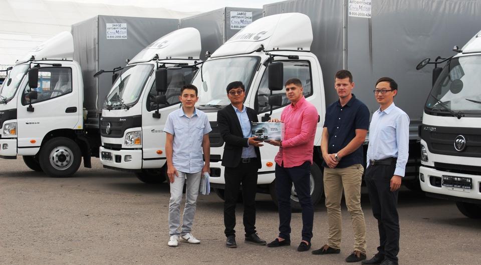 «Петрович» выбрал грузовики Foton Aumark