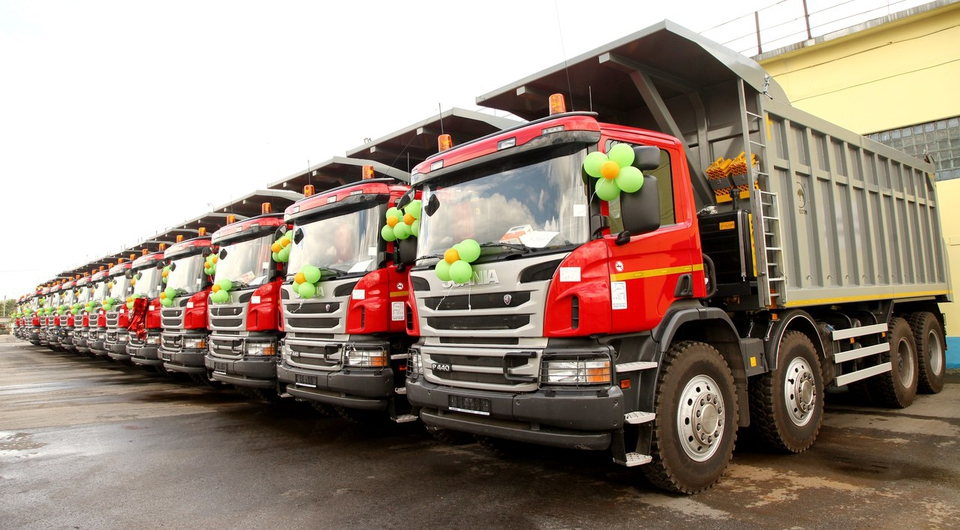 Scania P440 CB 8x4 EHZ отправились в Кузбасс