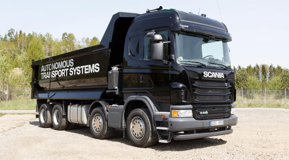 Scania и Ericsson: управление грузовиками на расстоянии