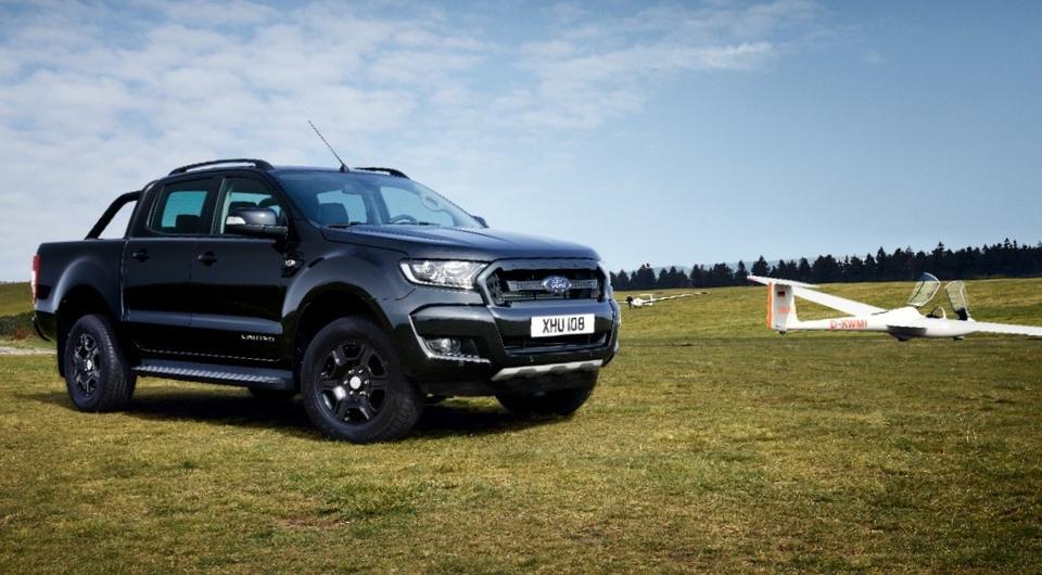 Черный-черный Ford. Встречаем Ford Ranger Black Edition