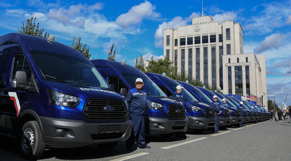 «Почта России» получила 675 Ford Transit
