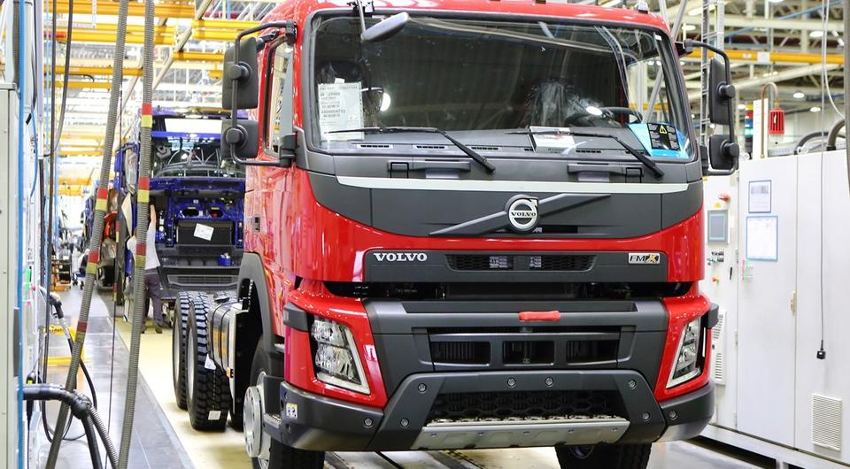 20 000 грузовых Volvo калужской сборки
