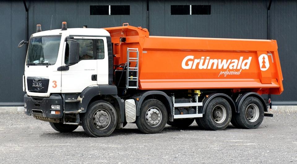 Grunwald обеспечит кузовами автомобили-самосвалы