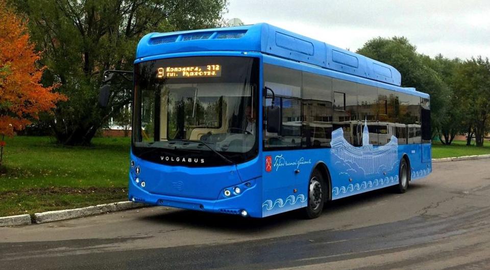 Второй электрический Volgabus прибыл в Липецк